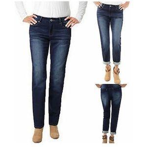 Buffalo Mid Rose Mimi Slim Boyfriend Jeans 6/28
